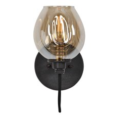 Uttermost Fritz 1 Light Gold Glass Sconce