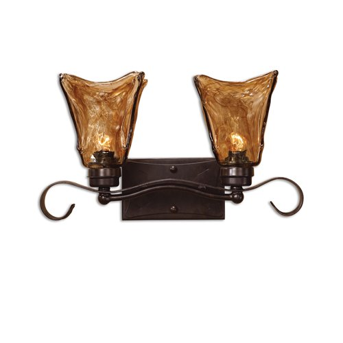 Uttermost Vetraio 2 Light Bronze Vanity Strip
