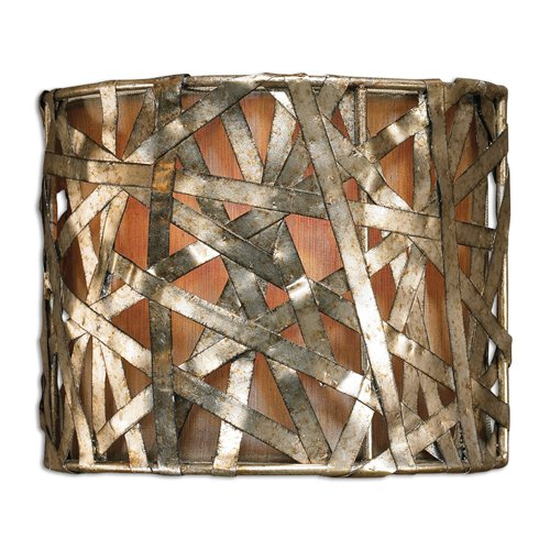Uttermost Alita Champagne 1 Light Wall Sconce