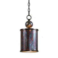 Uttermost Albiano 1 Light Bronze Mini Pendant