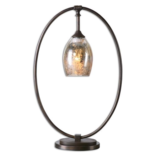 Uttermost Lemeta Oval Table Lamp