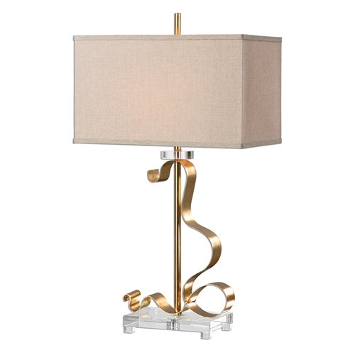 Uttermost Camarena Bright Gold Lamp