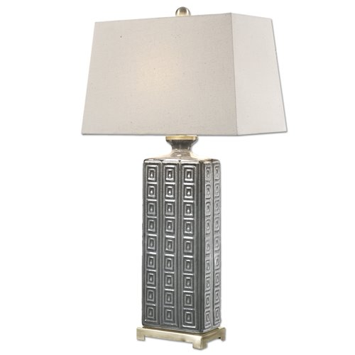 Uttermost Casale Aged Gray Lamp