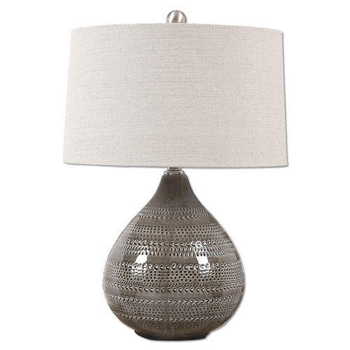 Uttermost Batova Smoke Gray Lamp
