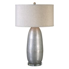 Uttermost Tartaro Industrial Silver Table Lamp