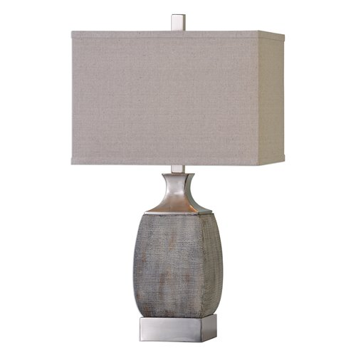 Uttermost Caffaro Rust Bronze Table Lamp