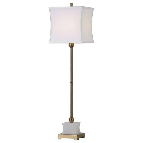 Uttermost Liano Brushed Brass Buffet Lamp