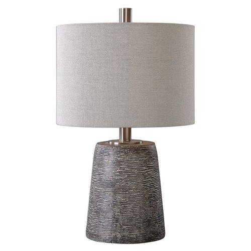 Uttermost Duron Bronze Ceramic Lamp