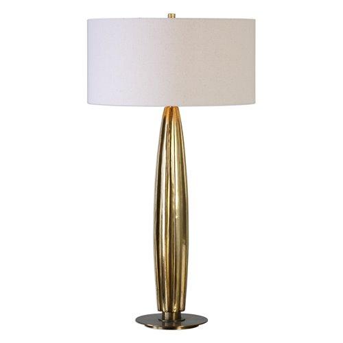 Uttermost Bremner Gold Table Lamp