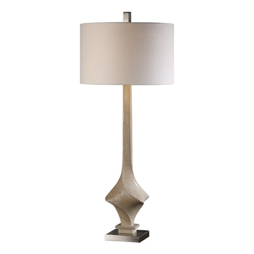 Uttermost Roseta Sand Colored Twist Lamp