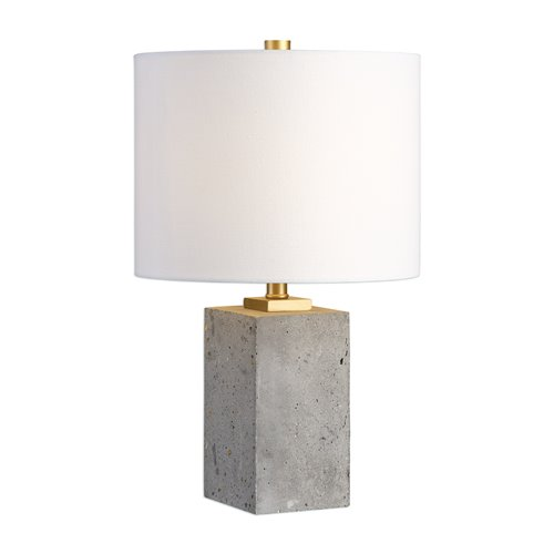 Uttermost Drexel Concrete Block Lamp