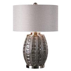 Uttermost Aura Ash Black Glaze Lamp