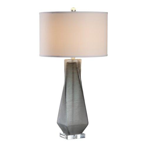 Uttermost Anatoli Charcoal Gray Table Lamp
