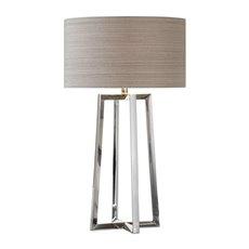 Uttermost Keokee Stainless Steel Table Lamp