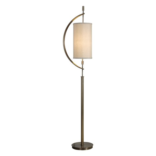Uttermost Balaour Antique Brass Floor Lamp
