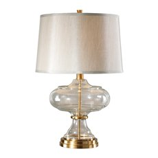 Uttermost Jelani Glass & Brass Lamp