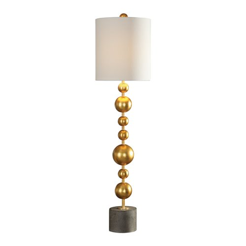 Uttermost Selim Gold Buffet Lamp