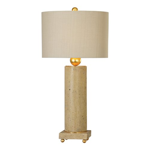 Uttermost Krisel Oval Column Lamp