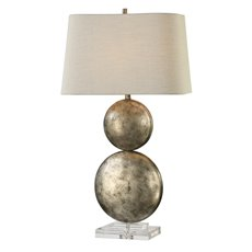 Uttermost Ordona Antiqued Metallic Silver Lamp