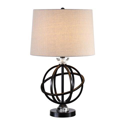 Uttermost Armilla Metal Orb Lamp