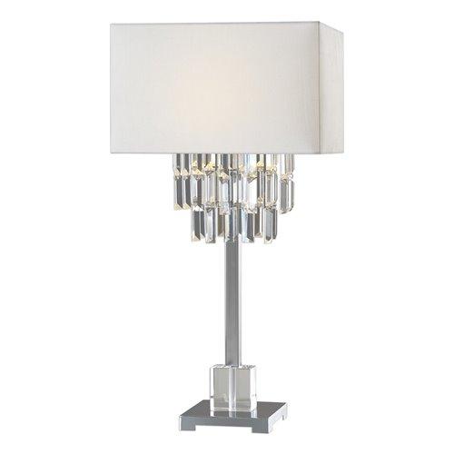 Uttermost Resana Polished Nickel Lamp