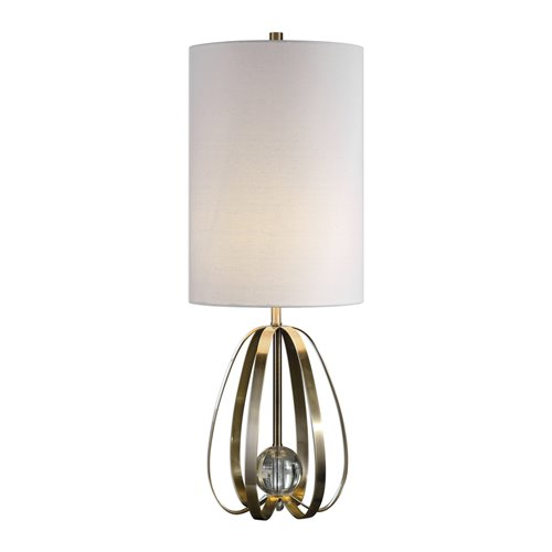 Uttermost Avola Nickel Bands Lamp