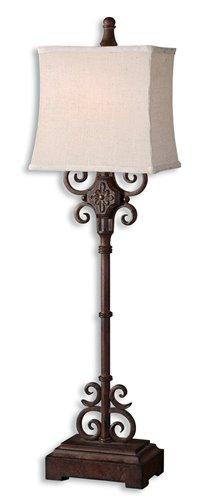 Uttermost Cubero Brown Buffet Lamp