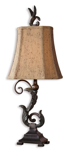 Uttermost Caperana Black Buffet Lamps Set/2