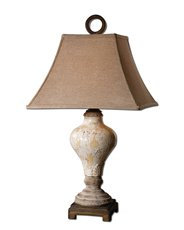 Uttermost Fobello Ivory Table Lamp