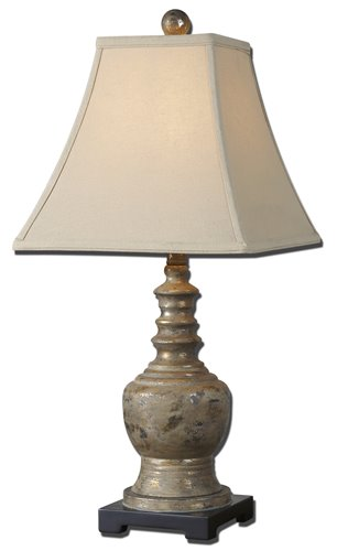 Uttermost Valtellina Taupe Gray Buffet Lamp