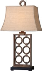 Uttermost Dardenne Bronze Table Lamp