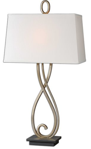 Uttermost Ferndale Scroll Metal Lamp