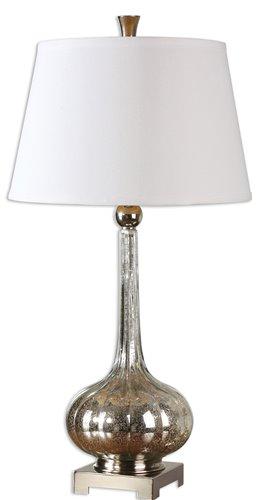 Uttermost Oristano Mercury Glass Lamp