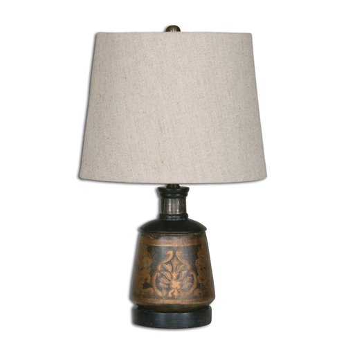 Uttermost Mela Hand Painted Lamp