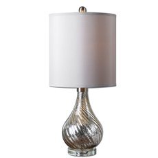 Uttermost Girona Mercury Glass Table Lamp