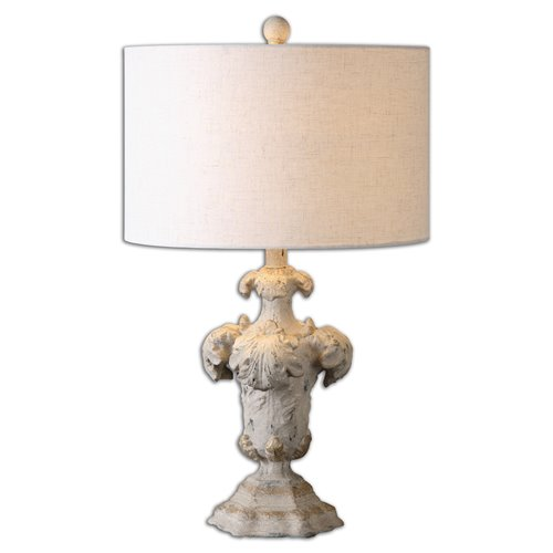 Uttermost Cassano Antique Ivory Table Lamp
