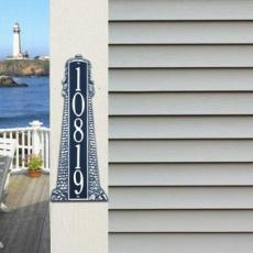 Lighthouse Address Plaque 18""