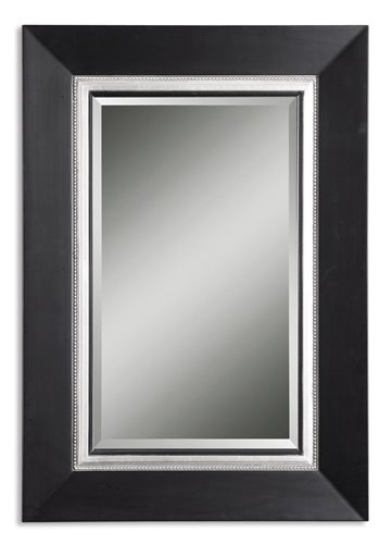 Uttermost Whitmore Black Vanity Mirror