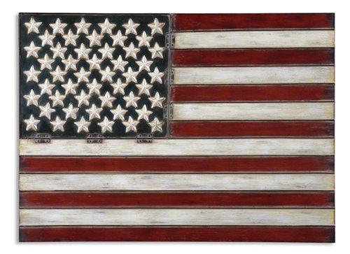 Uttermost American Flag Metal Wall Art