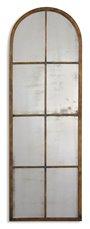 Uttermost Amiel Arched Brown Mirror