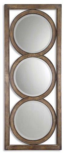 Uttermost Isandro Metal Silver Mirror