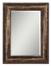 Uttermost Leola Antique Bronze Mirror