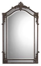 Uttermost Alvita Medium Metal Mirror