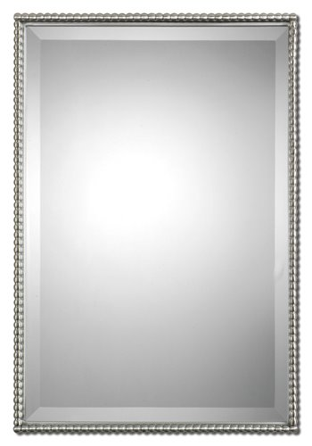 Uttermost Sherise Brushed Nickel Mirror