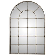 Uttermost Barwell Arch Window Mirror