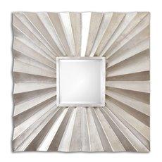 Uttermost Adelmar Metal Square Mirror