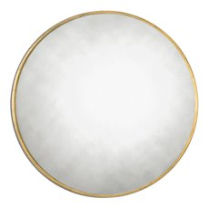 Uttermost Junius Round Gold Mirror