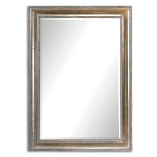 Uttermost Avelina Oxidized Silver Mirror