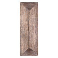 Uttermost Lokono Oxidized Gold Tiered Panel