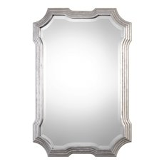 Uttermost Halima Silver Step Mirror